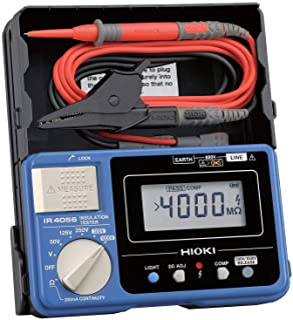 Hioki IR4056-20 Multimeter Insulation Electrical Test Equipment - AC/DC