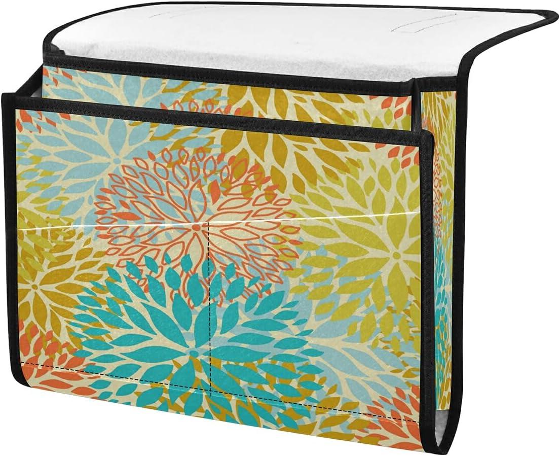 Free Shipping Cheap Bargain Many popular brands Gift TropicalLife ECHOLI Bedside Storage Organizer Floral Caddy Dahli