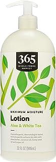 365 by Whole Foods Market, Maxium Moisture Lotion, Aloe & White Tea, 32 Fl Oz