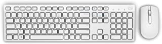 Dell Wireless Keyboard and Mouse, White, 580-AEWV