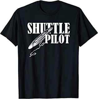 Hand Weaver weaving Gift Tshirt Shuttle Pilot Shirt