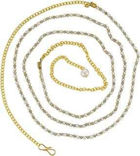 Vama Fashions Antique Gold Plated Waist Chain Traditional kamarpatta Jewellery for Women Latest.