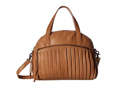 Day & Mood Petra Satchel (Camel) Satchel Handbags