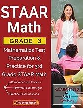 STAAR Math Grade 3: Mathematics Test Preparation & Practice for 3rd Grade STAAR Math