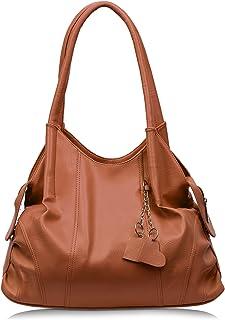 Aisna Women's SweetheartHandbags(ASN-070)(Tan)