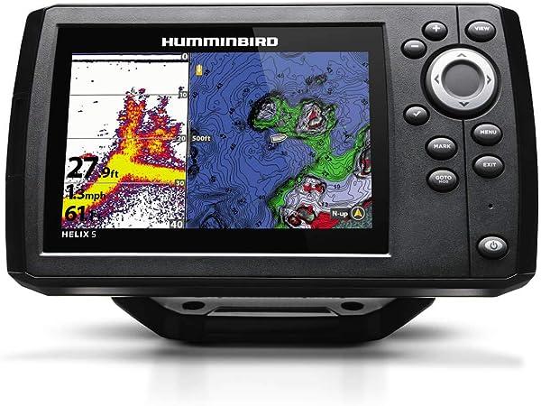 Humminbird 410210 1 Helix 5 Chirp Gps G2 Fischfinder Elektronik