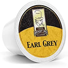 Bradford - 48 Count Earl Grey, Organic Caffeinated Black Tea K-Cup® Pods, Compatible with 2.0 K-Cup® Brewers