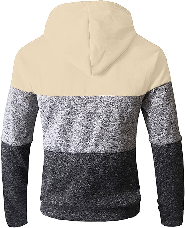 Yowein Hoodies for Men Zipper Act Sleeve Lightweight Excellence High material Long Spring