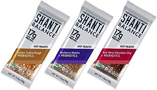 SHANTI BALANCE   3 New Flavors   17G Plant Based Protein   Organic Gluten Free Superfood   Gut Health Prebiotics + No-Bloa...