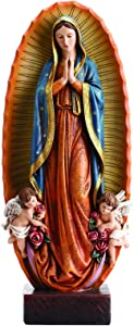Avalon Gallery Our Lady Virgen De Guadalupe Resin Statue, 23 1/2 Inch