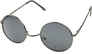c37a46c6d9 ShadyVEU - anteojos de sol de alambre estilo Lennon, redondas, estilo  retro, coloridas