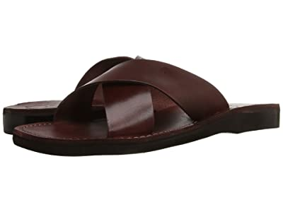 Jerusalem Sandals Elan Mens (Brown) Men