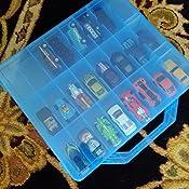 Color:Azul 20PCS Ni/ños M/áscara Clip De Almacenamiento Caja De Almacenamiento Port/átil Plegable Pl/ástico M/áscara Almacenamiento Clip Clip Contenedor