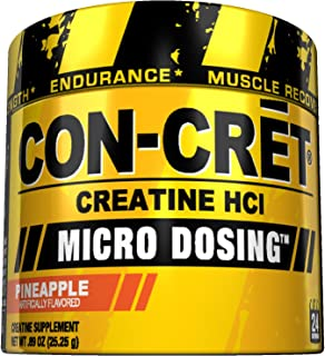 ProMera Health CON-CRET Creatine HCL Supplement, Pineapple, 0.89 Ounce