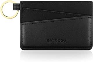 CHICECO Ultra Slim Credit Card Holder Wallet Card Case Compact Pocket Keychain