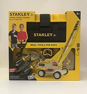Stanley Jr. Lifting Crane, Tool Box and 6 Piece Tool Set
