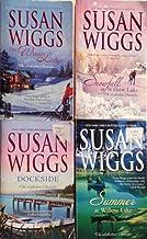 Lakeshore Chronicles By Susan Wiggs #1 - #4 (summer At Willow Lake,the Winter Lodge, Dockside, Snowfall At Willow Lake)