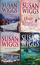 Lakeshore Chronicles By Susan Wiggs #1 - #4 (summer At Willow Lake,the Winter Lodge, Dockside, Snowfall At Willow Lake)