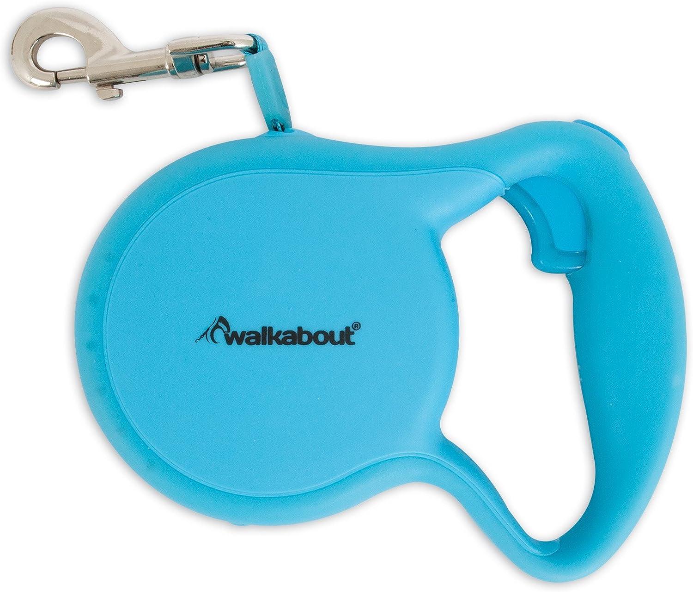 Petmate Walkabout 3 Glow Tape Collar, bluee, XSmall