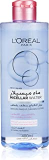 L'Oreal Paris Micellar Cleansing Water Normal to Dry Skin Cleanser & Makeup Remover, 400 ML