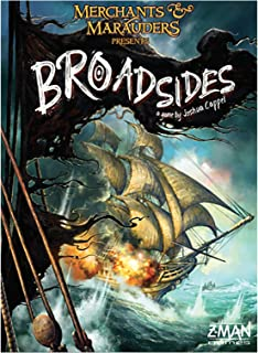 Z-Man Games Merchants and Marauders Broadsides Board Game - 14 Years & above