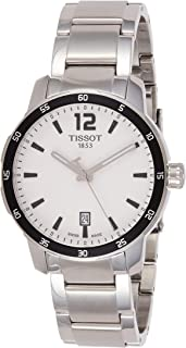 Men's T0954101103700 Quickster Analog Display Swiss Quartz Silver Watch