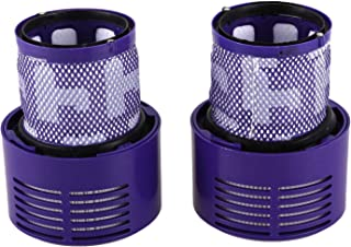 TOOGOO Washable Filter Unit for V10 SV12 Cyclone Animal Absolute Total Clean Vacuum Cleaner (Pack of 2)