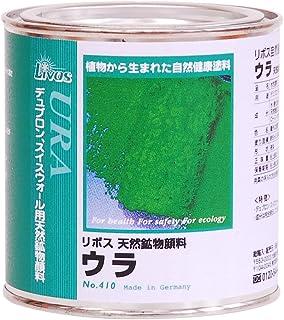 リボス 自然健康塗料 天然鉱物顔料 ウラ 灼褐色 0.375L