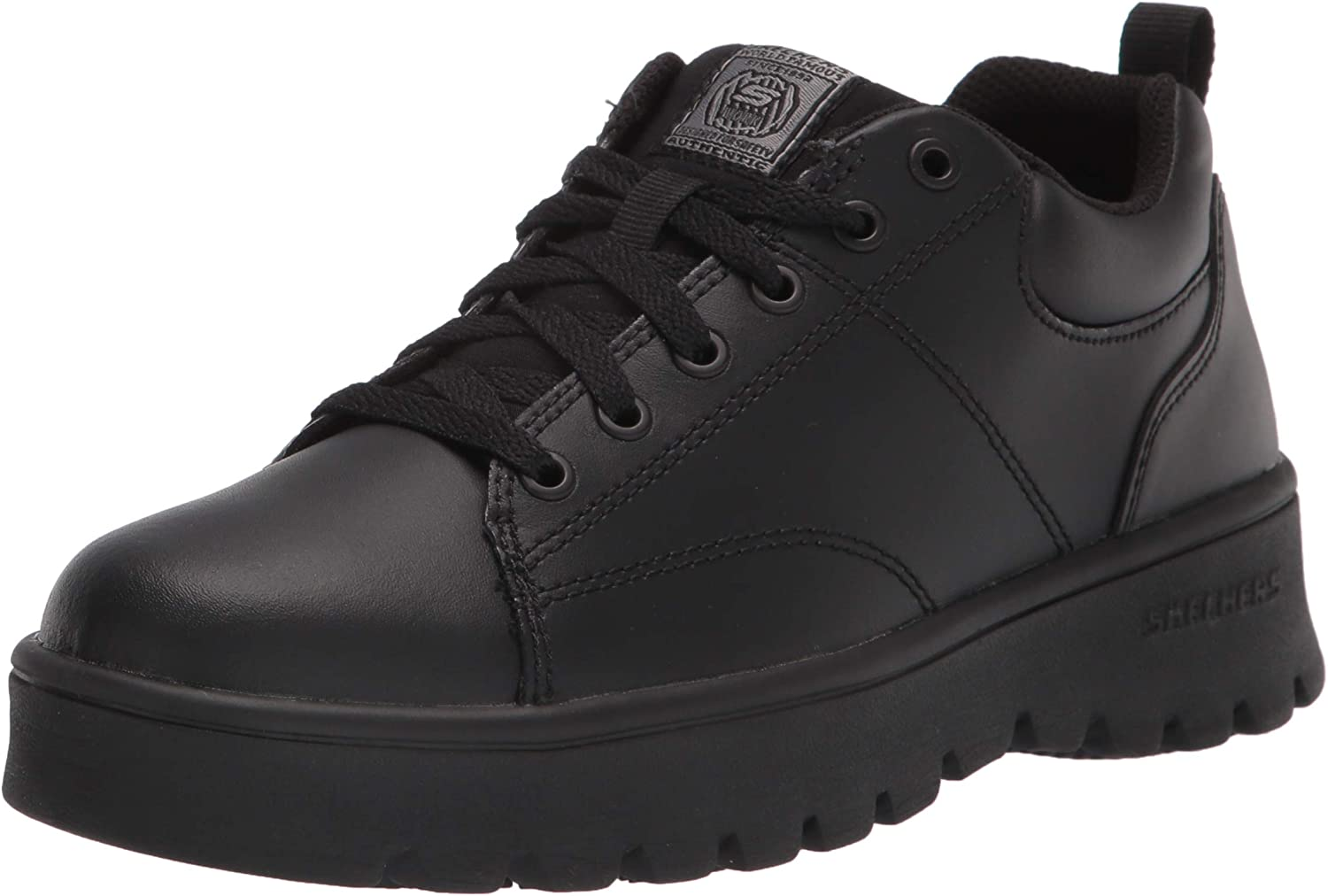Skechers Women's Padded Collar Lace Up Food Service Shoe