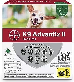 K9 ADVANTIX II for Small Dogs