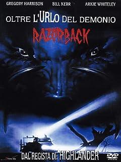 Razorback - Oltre l'urlo del demonio [Import italien]