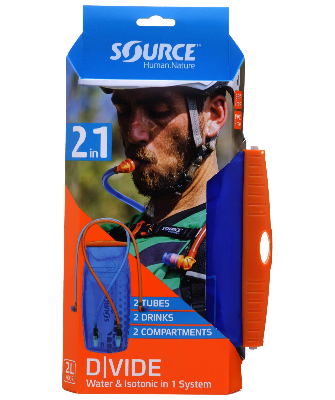 Source Unisex– Erwachsene Widepac D Vide Packtasche, blau, 1size