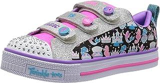 حذاء سنيكرز توينكل لايت ميس السحري للأطفال من سكيتشرز