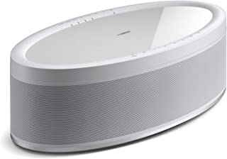 Yamaha MusicCast 50 WX-051 70W Wireless Speaker, Alexa Voice Control, White, Single (Renewed)
