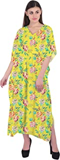 RADANYA Kaftan Tunic Kimono Dress Ladies Summer Women Evening Maxi Party
