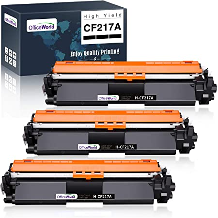M130FW M130FN 17A M130NW Works with: Laserjet Pro M102w Ink /& Toner USA Compatible Toner Replacement for HP CF217A Black