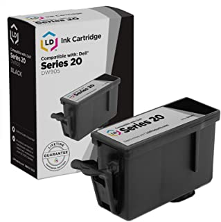 LD Compatible Ink Cartridge Replacement for Dell DW905 Series 20 (Black)