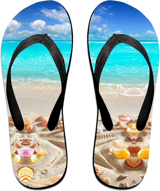 Seaside Super Special SALE held Seashells Starfish Sunny Casual Flops Summer Cheap sale Flip Beach