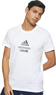 تيشيرت رجالي من Adidas Wwide Hoops مقاس S