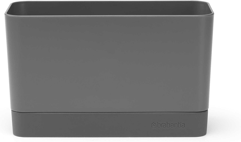 Brabantia Organizador de Fregadero, Gris Oscuro, 8,5x 19x 11.5cm
