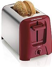 Hamilton Beach Cool Wall 2-Slice Toaster، Red (22623)
