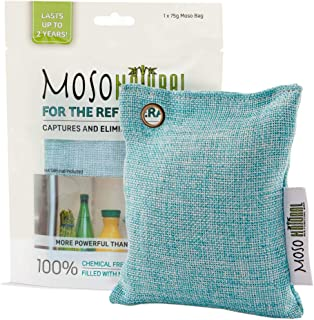 MOSO NATURAL Air Purifying Bag for The Refrigerator. Freezer and Fridge Odor Eliminator. More Powerful Than Baking Soda.