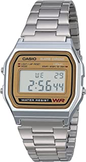 Men's A158WEA-9CF Casual Classic Digital Bracelet Watch