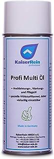 KaiserRein Profi Multi Öl Allzweck öl Multi spray Schmieröl Haushalts öl beseitigt Quietschen, Schmiert, Fettet, Türen, Schränke, Schließzylinder usw.