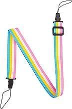 Sunmns Rainbow Camera Neck Shoulder Strap for Fujifilm Instax Mini 25/50/ 7S/ 70/8/ 8+/ 90/9 Instant Film Camera (40 Inches)