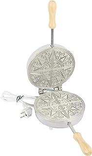 CBE Elettrocasa 8095100 Boîte à biscuits électrique Présentosa ronde fine, 600 W, aluminium pour usage alimentaire, chromé