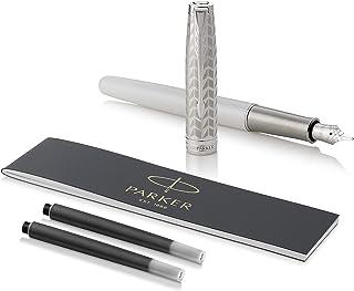 PARKER 派克 Sonnet钢笔 金属和珍珠漆 钯饰 实心18k金精细笔尖