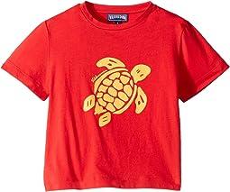 Jersey Coton Tortue Short Sleeve Tee (Toddler/Little Kids/Big Kids)