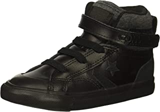 Kids' Pro Blaze Strap Leather Suede High Top Sneaker