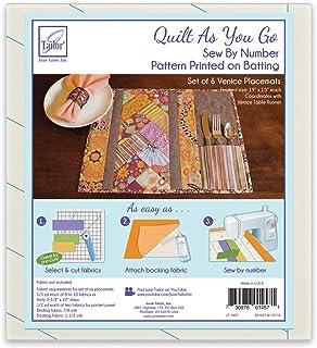 June Tailor JT-1457 Quilt As/Go Placemat Venice